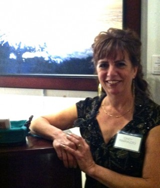 Cindy Marrazzo at the Dole Mansion Solo Exhibit