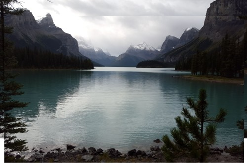 Maligne Lake Original refernce